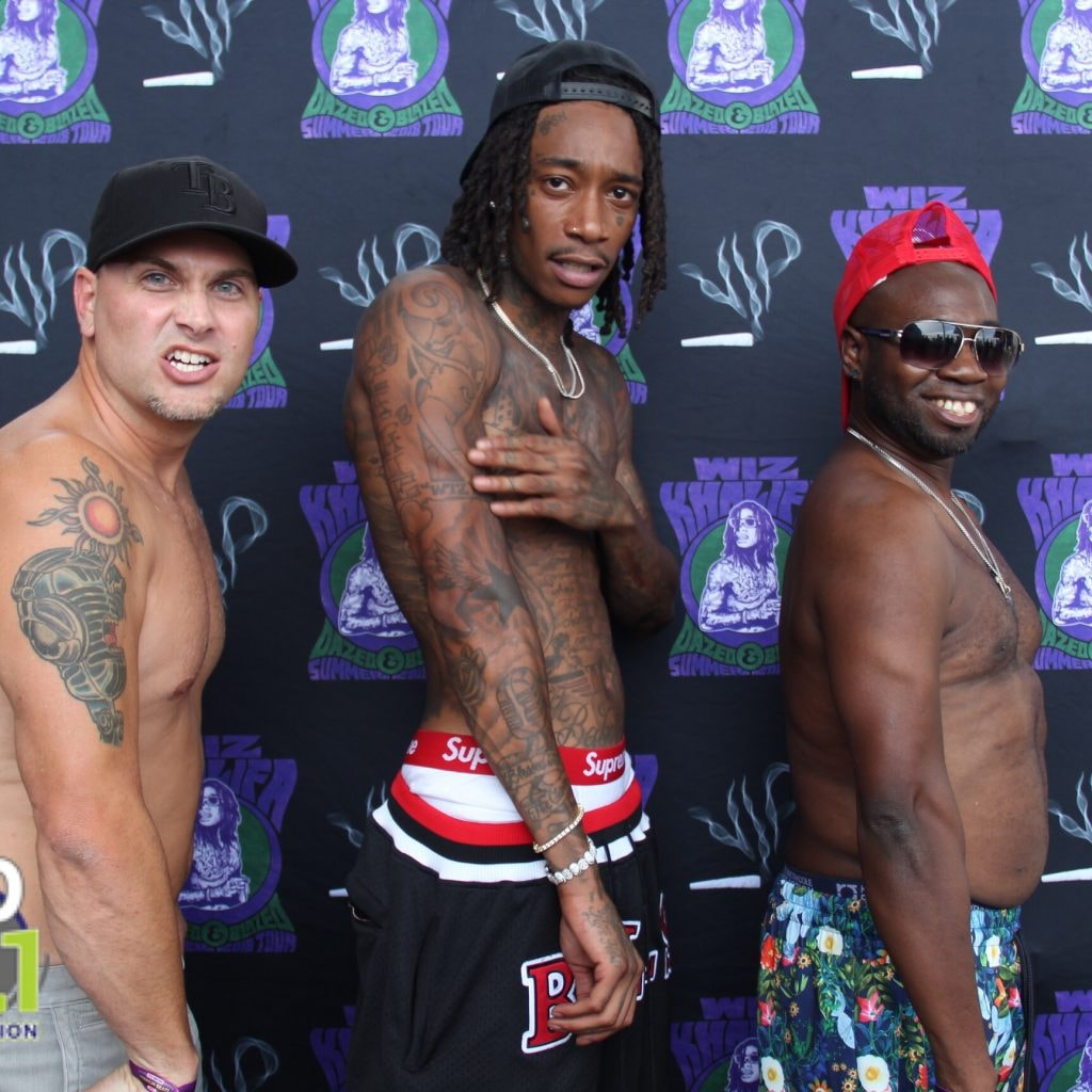 9c94f1a1 VIDEO: The Nuthouse Go Shirtless With Wiz Khalifa in Tampa