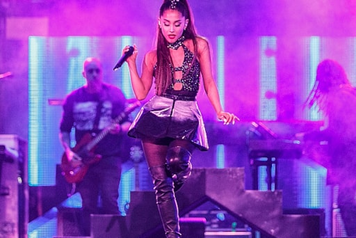 Ariana grande covers up her pete tattoo with a band aid at first ariana grande covers up her pete tattoo with a band aid at first appearance following split m4hsunfo