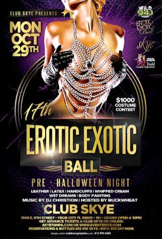 erotic ball exotic Annual