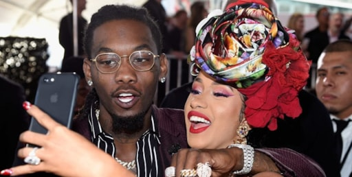 Cardi B Offset Reunite On A Jet Ski In Puerto Rico