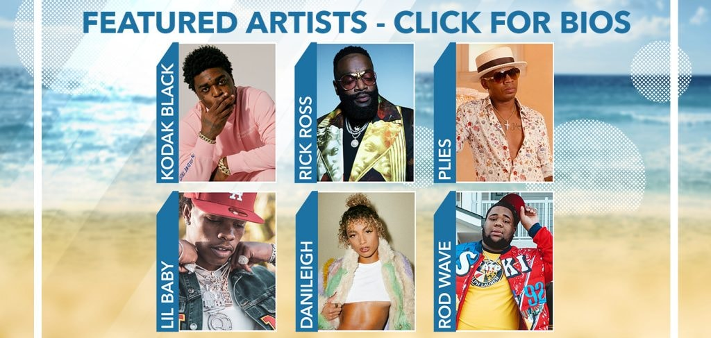 Featured Artists - Click For Bios